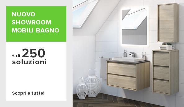 Arredo bagno e sanitari idee offerte e prezzi per l 39 arredo bagno on line - Leroy merlin accessori bagno ...
