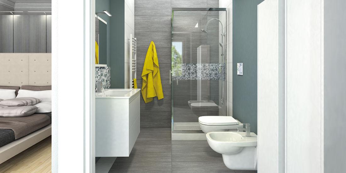 Top Come realizzare un bagno in camera da letto fai da te | Leroy Merlin GC03