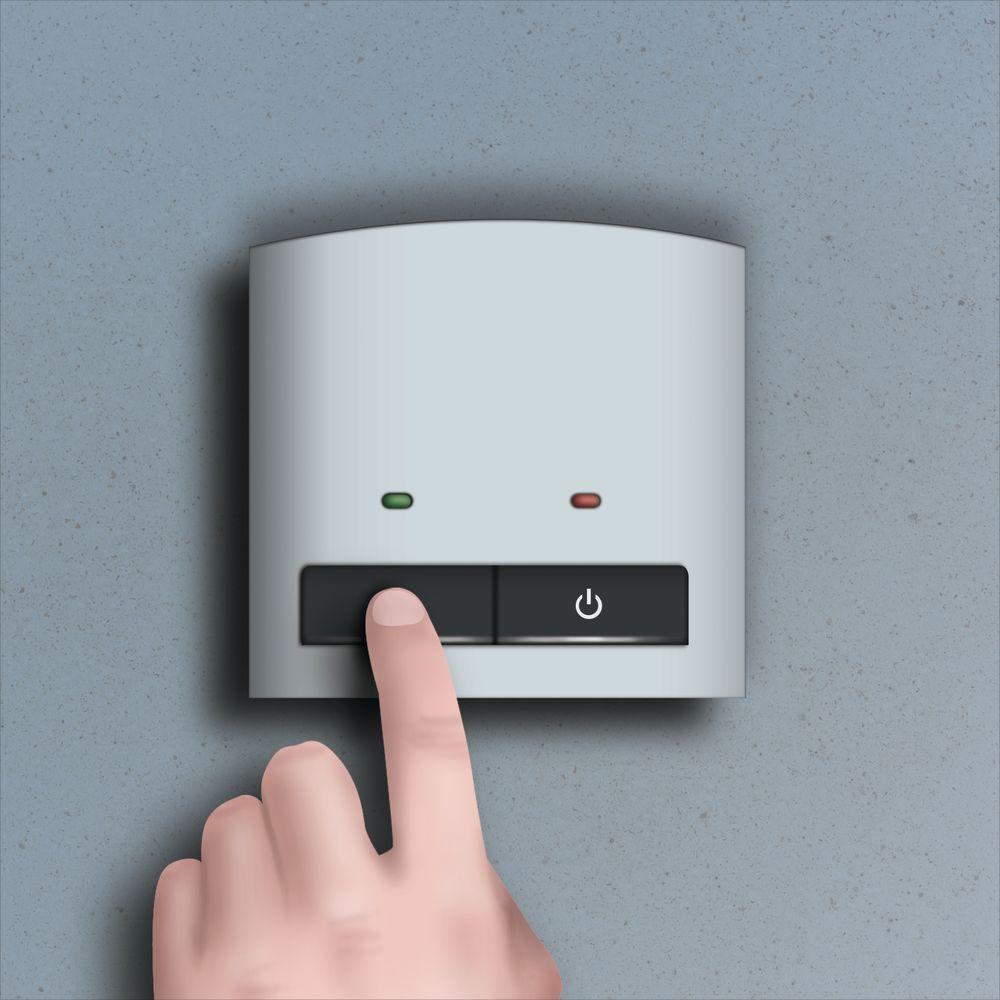 Collegare il termostato battiscopa riscaldatori
