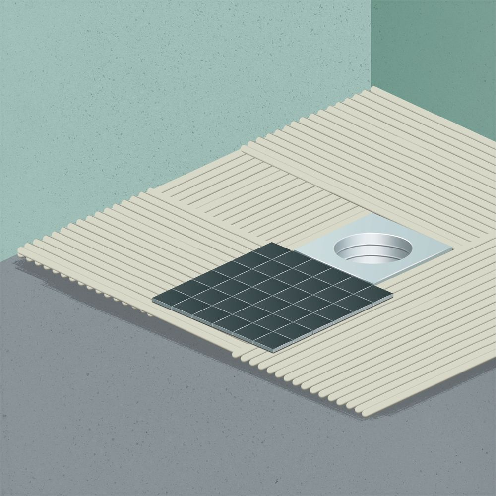 Come Installare Un Piatto Doccia In Ceramica.Come Realizzare Un Piatto Doccia Mosaico Leroy Merlin