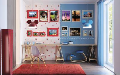 Modi per decorare le pareti di casa con foto e cornici