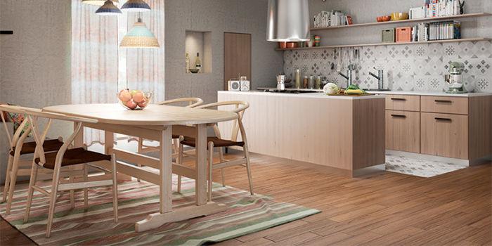 Come arredare una cucina rustica in legno per tutta la ...