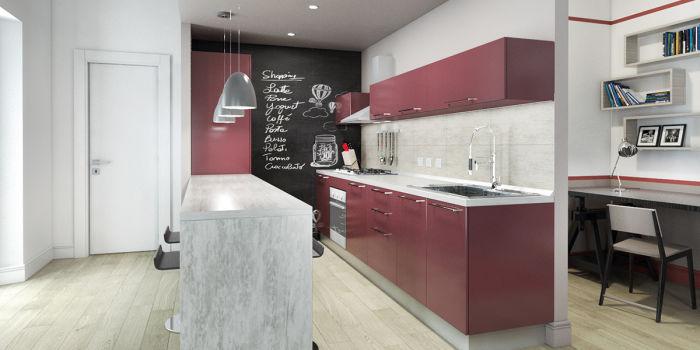 arredare un open space cucina soggiorno da sogno fai da te   leroy ... - Muri Divisori Cucina Soggiorno 2