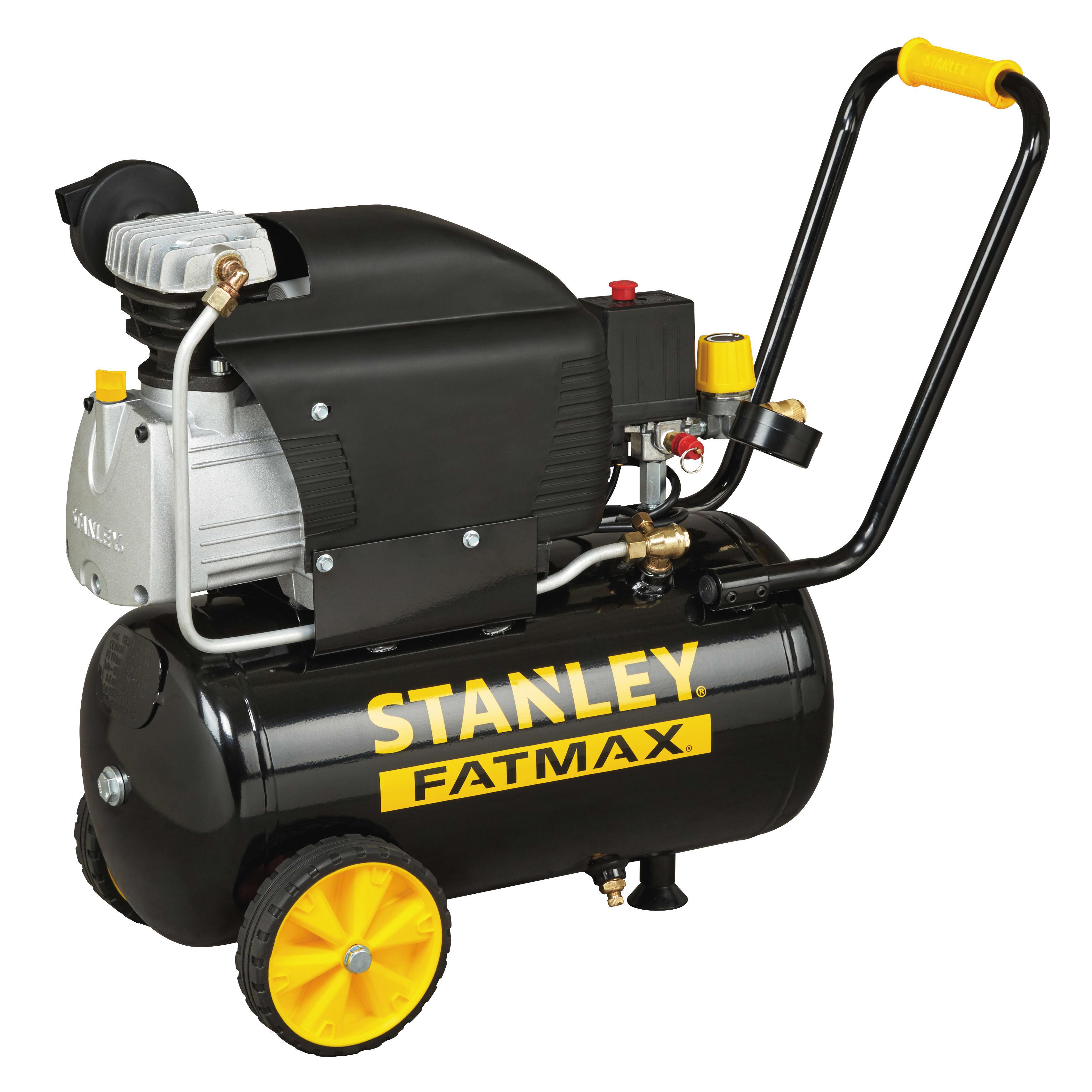 Compressore Coassiale Stanley Fatmax D 250 10 24s 2 5 Hp Pressione
