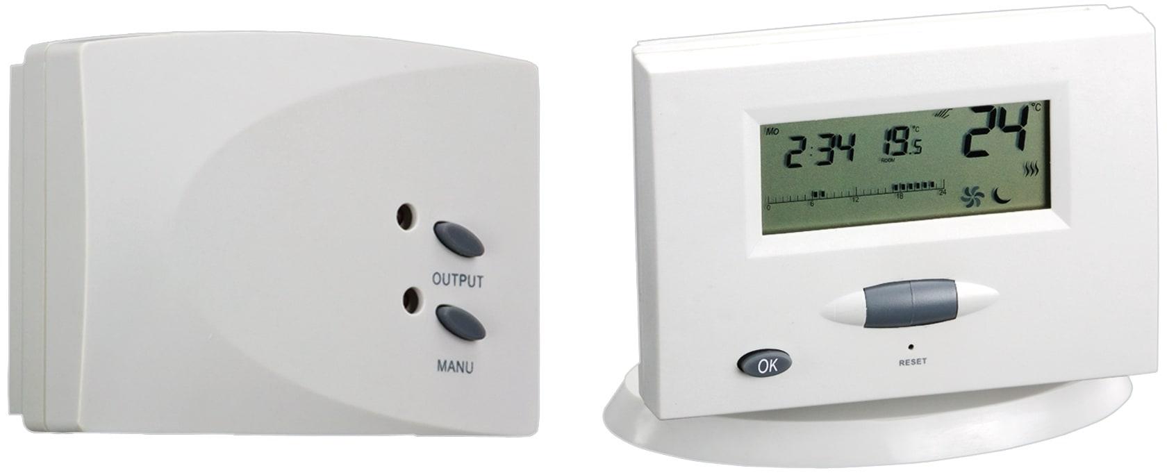 Cronotermostato Gbc Digitale Wireless Prezzi E Offerte Online