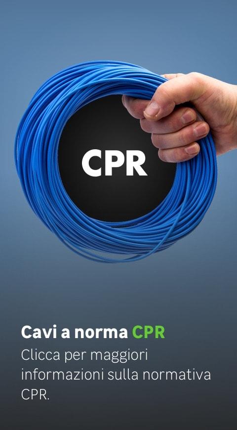 Cavi a norma CPR