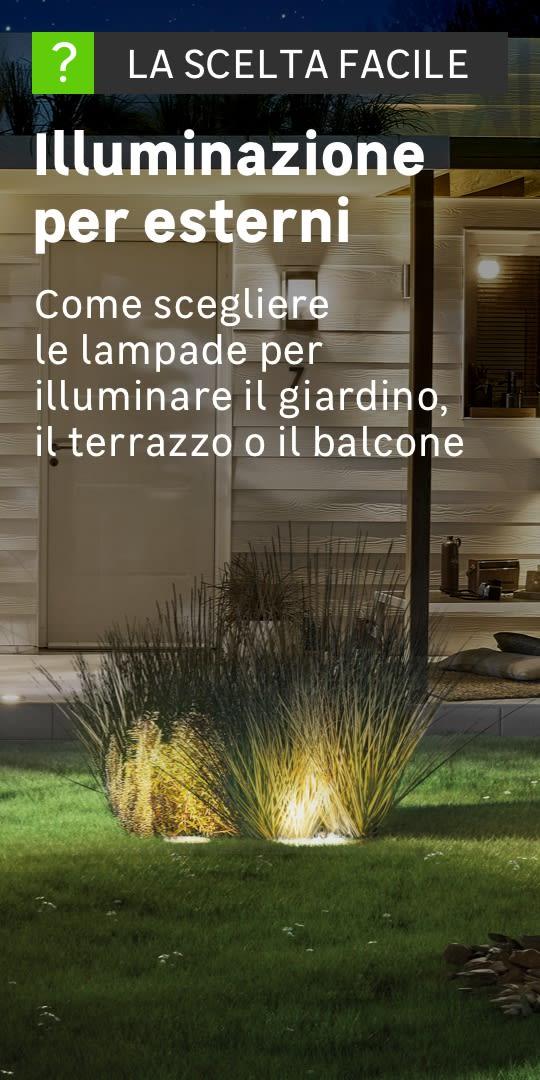 Lampioni e lampioncini da giardino prezzi e offerte for Illuminazione per esterni led