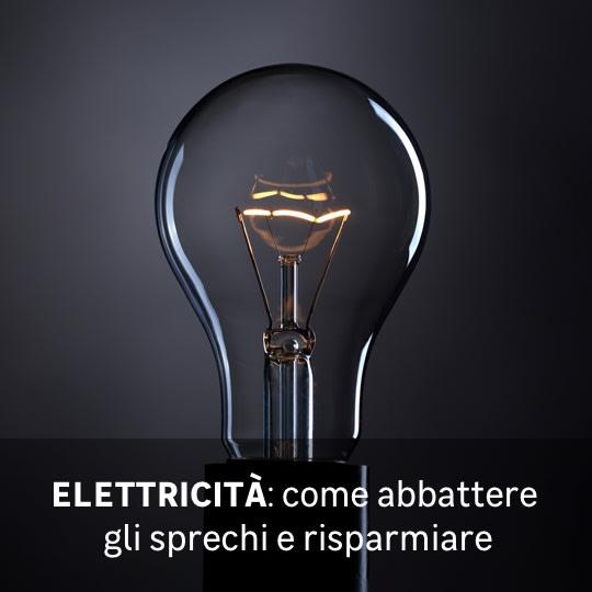 Elettricità risparmio energetico