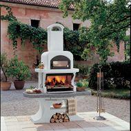Barbecue in muratura con cappa e forno Parenzo: prezzi e offerte online