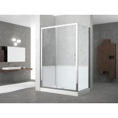 Idee per ristrutturare un bagno trasformare la vasca in for Trasformare vasca in doccia leroy merlin