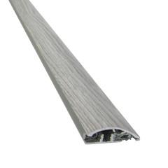 Pavimenti e rivestimenti-Soglia per dislivello rovere grigio L 90 cm-35095102