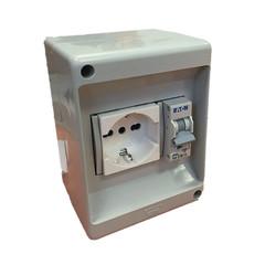 Impianti elettrici interruttore magnetotermico e scatole for Interruttore orario leroy merlin