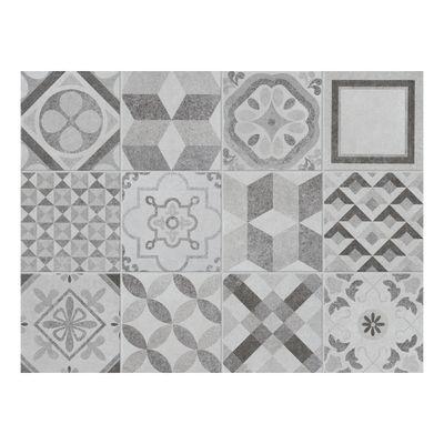 Piastrella Cement 10 x 10 cm nero, argento: prezzi e offerte online
