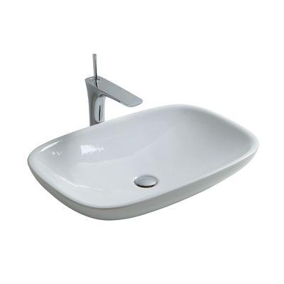 Lavabo da appoggio rettangolare ø 40 x 12,5 cm: prezzi e offerte online