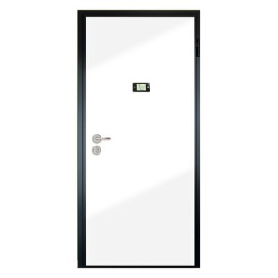 Porta blindata Schumy noce L 90 x H 210 cm sx: prezzi e offerte online