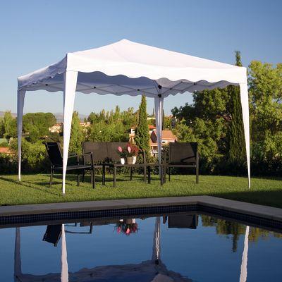Gazebo pieghevole copertura bianca 3 x 3 m: prezzi e offerte online