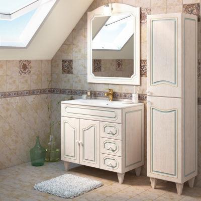 Mobile bagno caravaggio l 90 cm prezzi e offerte online - Leroy merlin mobile bagno ...