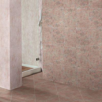 Piastrella marmor 33 x 33 cm rosa prezzi e offerte online for Paraspigoli leroy merlin