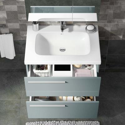Mobile bagno Elea azzurro L 71,5 cm: prezzi e offerte online