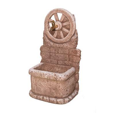 Fontana a colonna Masseria color tufo: prezzi e offerte online