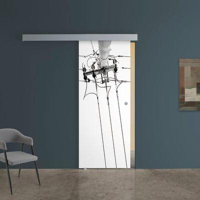 Porta da interno scorrevole Tesla 2 88 x H 215 cm sx: prezzi e ...