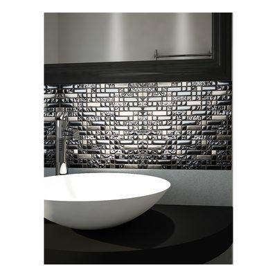 Mosaico Muretto 30 x 30 cm nero, argento: prezzi e offerte online