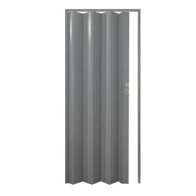Porta a soffietto Luciana grigio ghiaccio L 88.5 x H 214 cm: prezzi ...