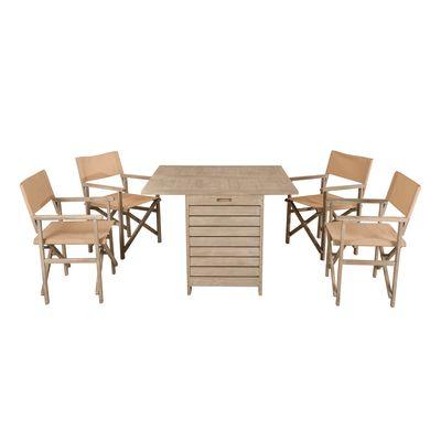 Set tavolo consolle con 4 sedie Provence: prezzi e offerte online