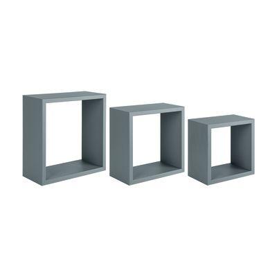 Set 3 cubi Spaceo grigio, sp 1,8 cm: prezzi e offerte online
