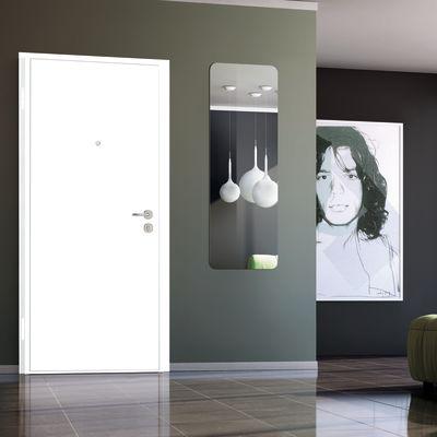 Porta blindata Bicolor bianco- noce L 80 x H 210 cm dx: prezzi e ...