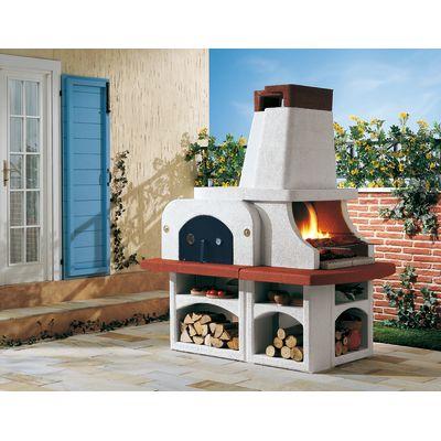 Barbecue in muratura con cappa e forno Parenzo: prezzi e offerte ...