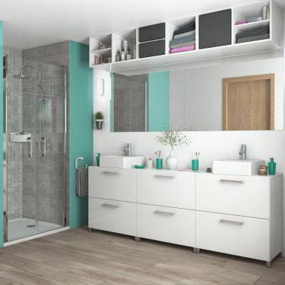 Mobile bagno Easy bianco L 70 cm: prezzi e offerte online