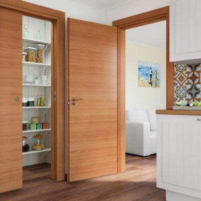 Porta da interno scorrevole Light 90 x H 210 cm reversibile: prezzi ...