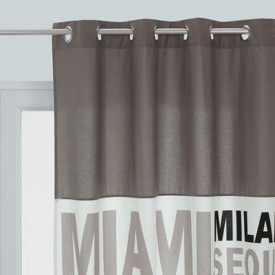 Tenda in the city grigio 140 x 270 cm prezzi e offerte online for Leroy merlin cavalletti