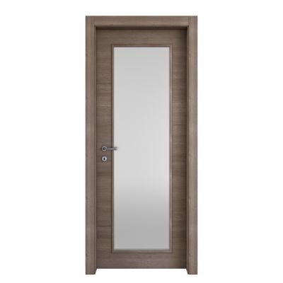 Porta da interno battente Stylish vetro gris clair 60 x H 210 cm ...