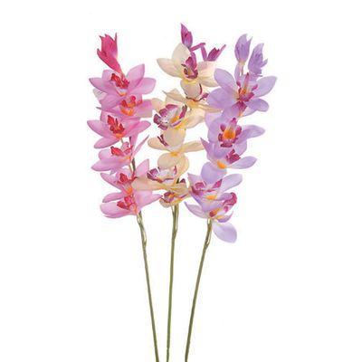 Decorazione Ramo Orchidea Cymbidium Colori Assortiti 32337830