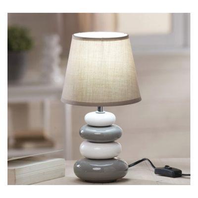 lampada da comodino arizona tortora grigio: prezzi e offerte online