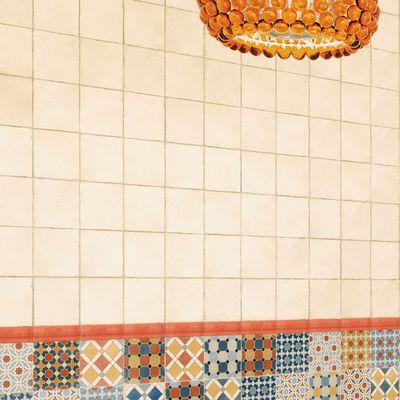 Piastrelle bagno 15x15 amazing bagno piastrelle pavimento in gres effetto cemento in formato - Stock piastrelle versace ...