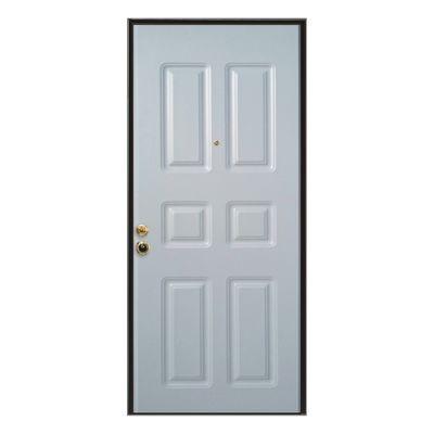 Porta blindata Steel bianco L 80 x H 210 cm dx: prezzi e offerte ...