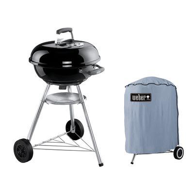 Barbecue a carbonella Weber Compact Kettle Ø 47 con custodia: prezzi ...