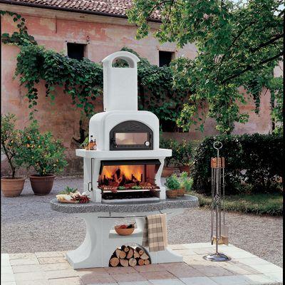 Barbecue in muratura con cappa e forno Capri 2: prezzi e offerte online