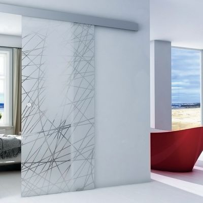 Porta da interno scorrevole Armonia 86 x H 215 cm reversibile ...