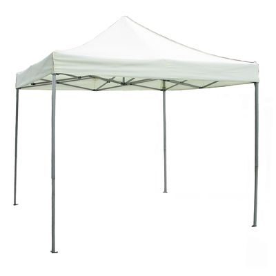 gazebo pieghevole gaz 105 copertura bianca 3 x 3 m: prezzi e offerte