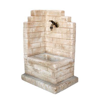 Fontana a colonna Paolo nocciola: prezzi e offerte online