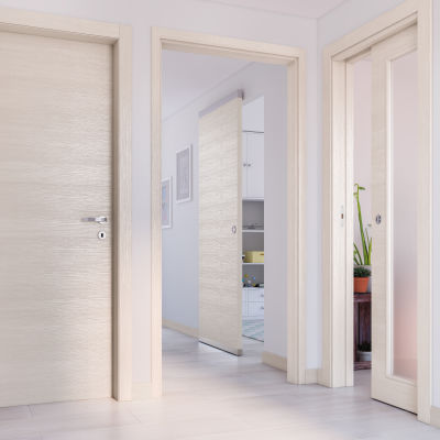 Porta da interno scorrevole Lucad Graf Matrix 91 x H 221 cm ...