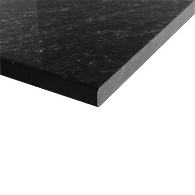 Piano cucina su misura laminato Marmo nero 6 cm: prezzi e offerte online