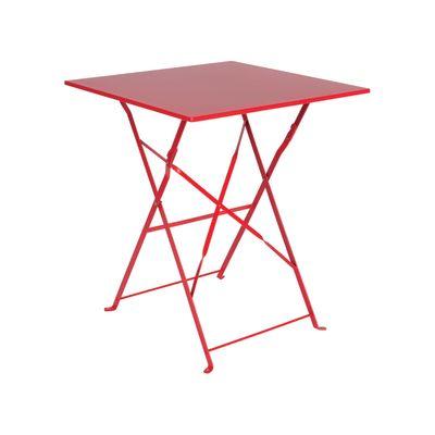 Tavolo pieghevole color 60 x 60 cm rosso prezzi e - Tavolo roma leroy merlin ...