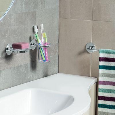 bagno porta salviette wind cromato lucido l 45 cm 34663853_1