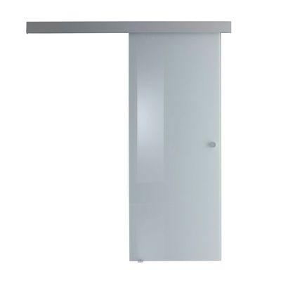 Porta da interno scorrevole Sirio bianco 76 x H 215 cm reversibile ...