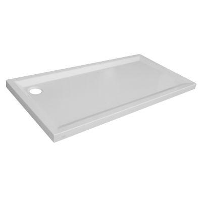 Piatto doccia acrilico houston 70 x 160 cm bianco prezzi for Piatto doccia 170x70 leroy merlin